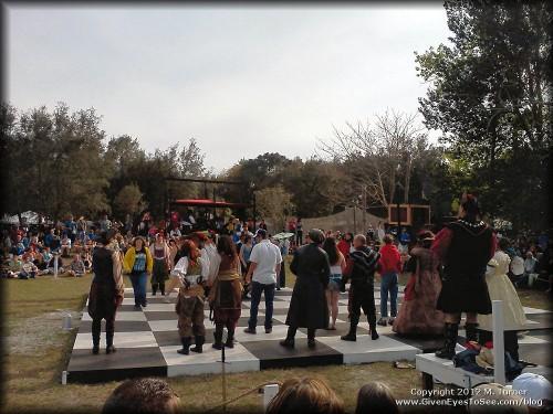 Bay area Renaissance Festival 2012 Human Combat Chess