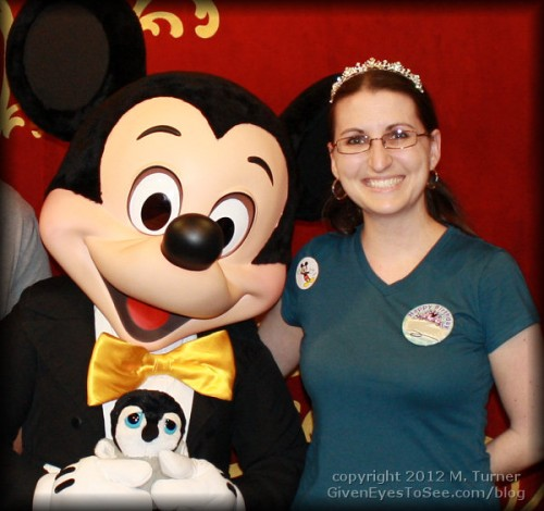 me and the head cheese, mickey mouse hanging at disney