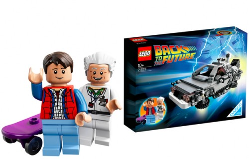 Lego DeLorean Back to the Future Time Machine