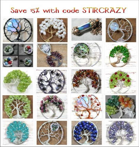 August 14th - 21st 2013 use code STIRCRAZY for 15% off your PhoenixFireDesigns order!