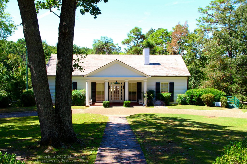 FDR's Little White House in Warm Springs, Georgia.
