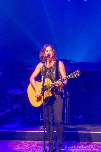 Sarah McLachlan performing at Ruth Eckerd Hall in Clearwater for the Shine On Tour March 28, 2015