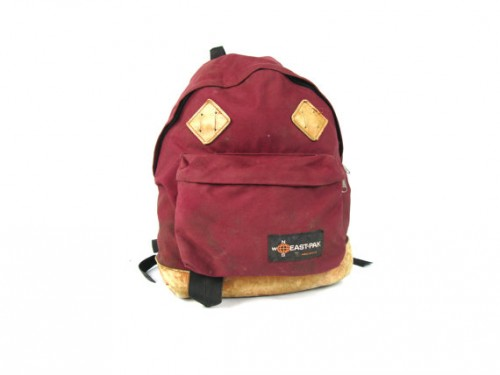 Eastpak Pak'r Returnity Red backpack - same as Marty McFly in Back to the Future.