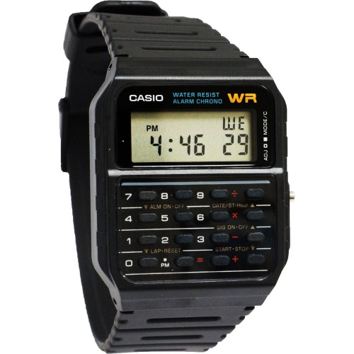 Marty McFly Casio CA53W Calculator Watch