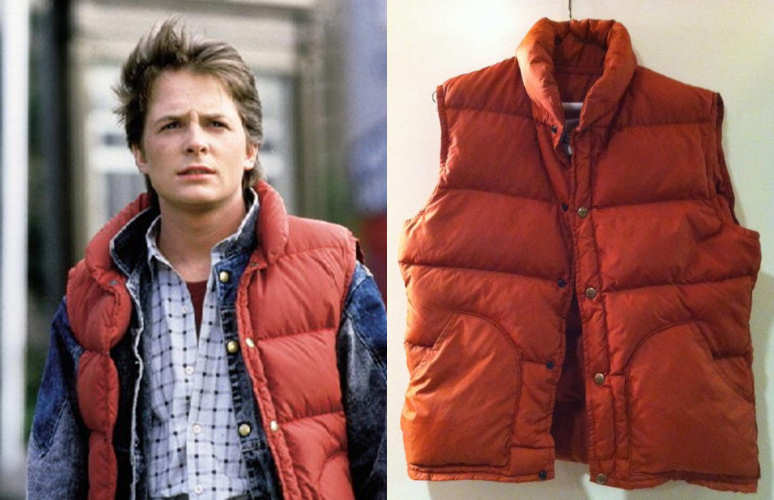 Marty McFly Class-5 puffer vest from Back to the Future