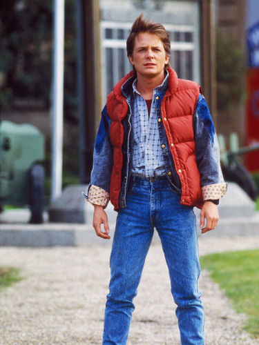 Marty McFly 1985 outfit