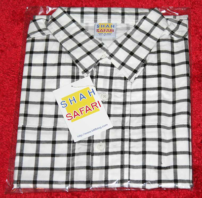 Shah Safari reproduction replica Marty McFly shirt, released in 2010 and sold out.