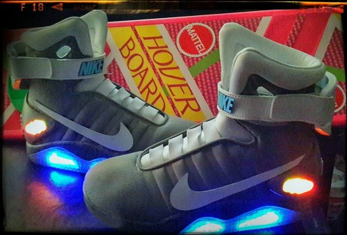 Back to the Future October 21, 2015: Hoverboards and Nike Mags
