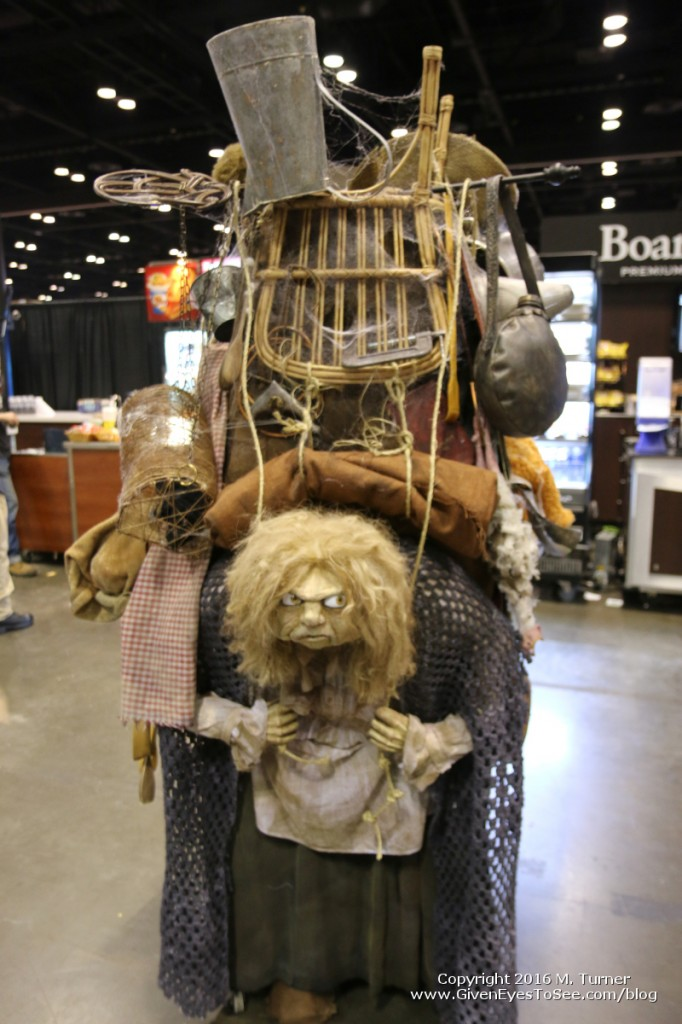 John & Jen from EPBOT made the Best in Show winning Junk Lady costume. So glad I got to see it in person!